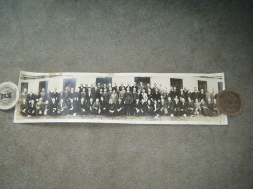 YMCA Overseas Secretary 1918 Columbia University Yard Long Photograph