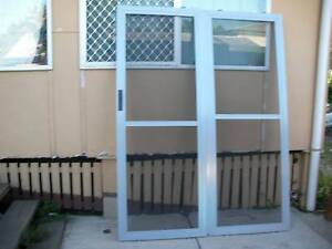 aluminium sliding doors 50 00 a pair of new aluminium sliding doors