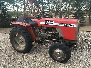 REDUCED: 1984 Massey Ferguson 4x4 Acreage Tractor