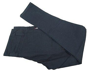 Authentic Belstaff Maputo Black Cotton Pants Mens Trousers EU 46