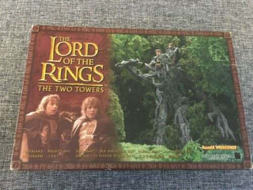 Lord of the Rings Two Towers - Treebeard with Merry Pippin Warhammer Unused