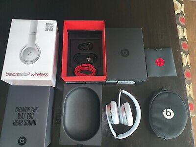 Beats by Dr. Dre Solo3 Wireless Over the Ear Headphones - Silver