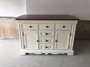 County Style Kitchen Island - price negotiable
