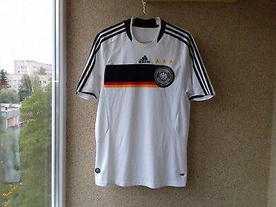 Germany Adidas Home football shirt 2008 2009 Jersey Soccer M Camiseta 22920e49a