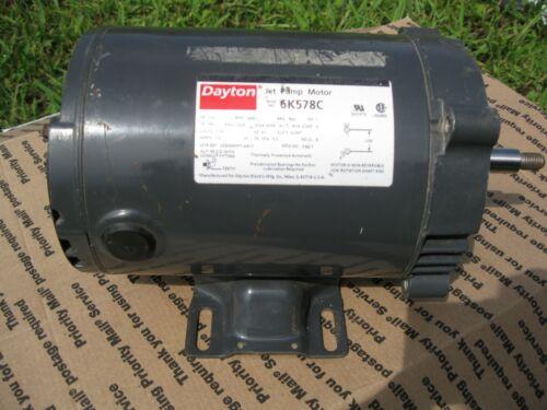 Dayton 6K578C, Electric Jet Pump Motor