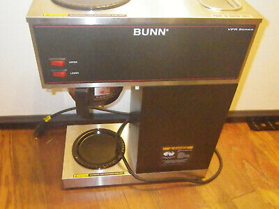 Bunn Vpr Commercial 12 Cup Coffee Maker Brewer Series 33200.0001 No Decanter