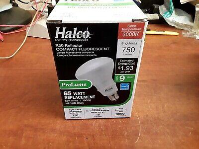 Compact Fluorescent R30 Reflector (Halco ProLume Lighting 65W R30 Reflector Compact Fluorescent Bulb M/N:)
