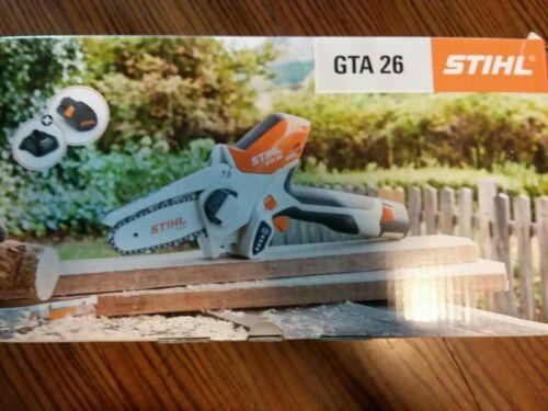 STIHL GTA 26 Handheld Pruner Chainsaw Battery Powered  w/ ca