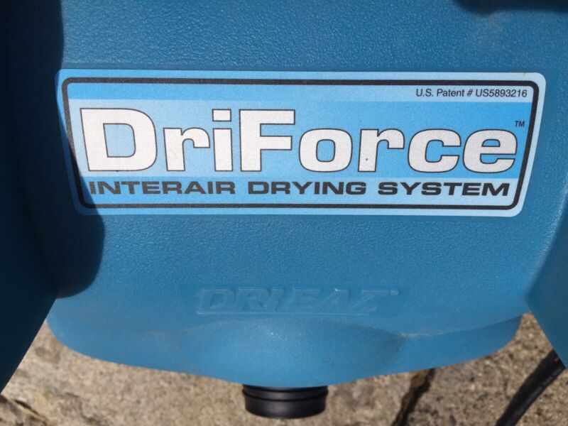 Dri Eaz DriForce F 211   Great Condition!!! With Unused Mini Vent Kit!!