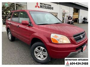 2003 Honda Pilot EX; Fully inspected! Clean status!