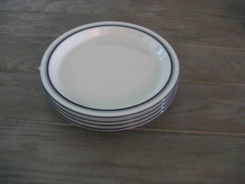 4 Dansk Portugal CHRISTIANSHAVN BLUE Salad Plates