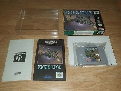 Knife Edge Nintendo 64 N64 PAL