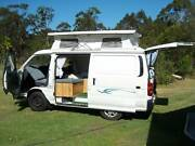 Toyota hi-ace hiace 2.8 diesel campervan  pop top Port Macquarie Port Macquarie City Preview