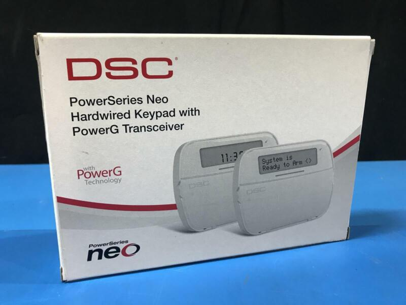 DSC HS2LCDRF8E1 N PowerSeries Hardwired Keypad With PowerG Tranceiver