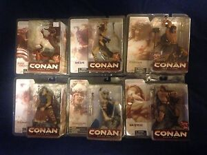 Lot of 6 Conan figures !