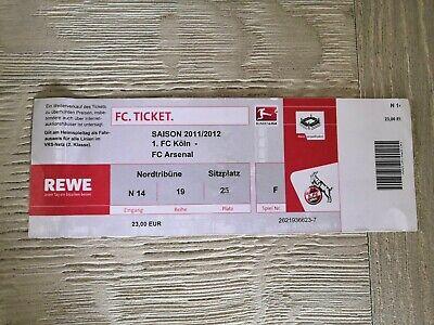 Ticket FC Koln - Arsenal FC Friendly 2011