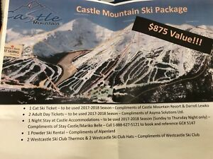 Castle Mountain Ski Package for 2018/2019