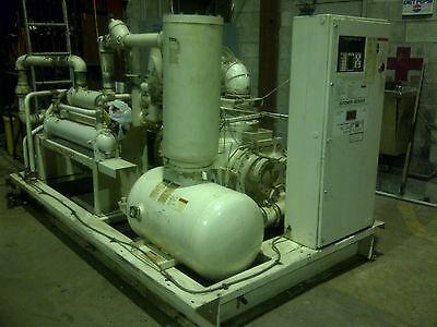 125 Hp Air Compressor Screw-type Wdryer Gardner-denver  Electra Saver Ll