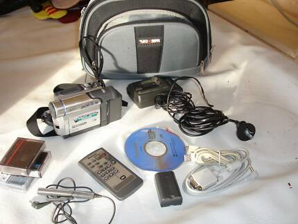 Panasonic NV DS60 video camera, bag & accessories Forrestfield Kalamunda Area Preview