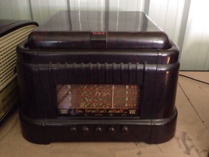 Radio 1950s Australia 1950's Radio/record Player