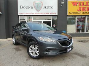 2013 Mazda CX-9 GS|LUX-PKG|AWD|7-PASS|B-CAM|LEATHER|S-ROOF|H-SEA