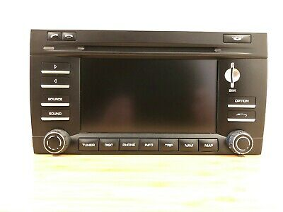 Porsche Cayenne GTS 957 PCM 3 Navigation Display Unit Monitor Screen Radio CD