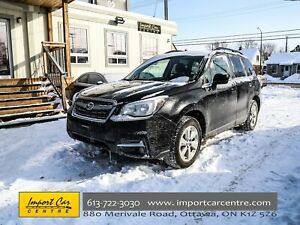 2017 Subaru Forester 2.5i Convenience BK.CAMERA H.SEATS 17ALLOYS