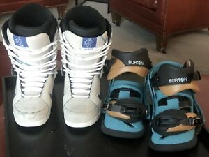 Vans Snowboard boots size 10  and bindings