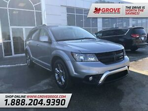 2017 Dodge Journey Crossroad| Leather| Sunroof| AWD| DVD