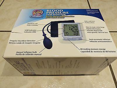 Vida Mia Blood Pressure Arm Monitor Semi-Automatic NEW IN BOX