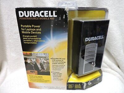 Duracell Power Source Mobile (Duracell Powersource Mobile 100 Portable Power for Laptops and Mobile)