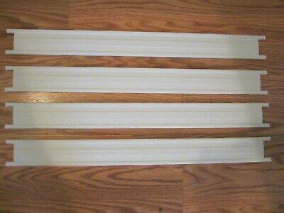 """FRIGIDAIRE FREEZER DOOR BARS 20 3/4"""" x 2 Lot of 4"""