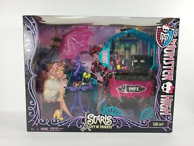 Monster High Scaris City of Frights Cafe Cart Playset Toy NIB
