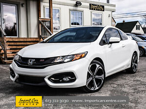 2015 Honda Civic Coupe Si NAVI ROOF BK.CAM 6 SPD WOW!!