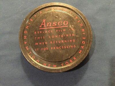 Винтажные пленки Vintage Ansco film container