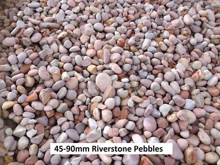Riverstone Pebbles & Rocks FREE DELIVERY Garden Decorative Stone Wattle Grove Kalamunda Area Preview
