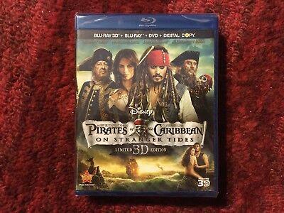 Pirates of the Caribbean : On Stranger Tides : 5 - Disc Blu-ray + 3D + DvD (Pirates Of The Caribbean 5 Blu Ray)