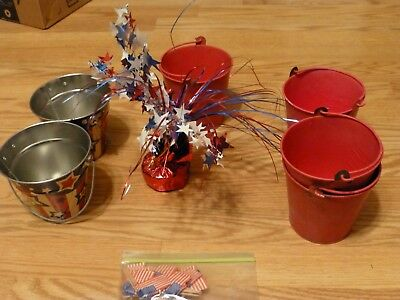 4th of July Holiday Decorations and Small Table Center Piece (4th Of July Table Centerpieces)