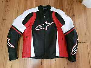 New Alpinestars leather motorcycle riding jacket Mindarie Wanneroo Area Preview