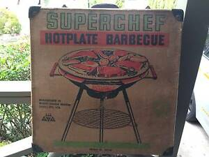 Vintage 60's SuperChef Hotplate BBQ Wantirna Knox Area Preview