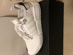 Adidas NMD All white Brand new Size 9