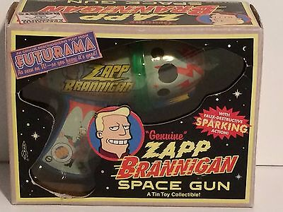 Futurama Zapp Brannigan Space Gun, With Box