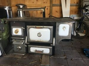 Heartland wood/electric cook stove