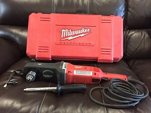 Brand new never used Milwaukee Superhawg 1820 right angle drill