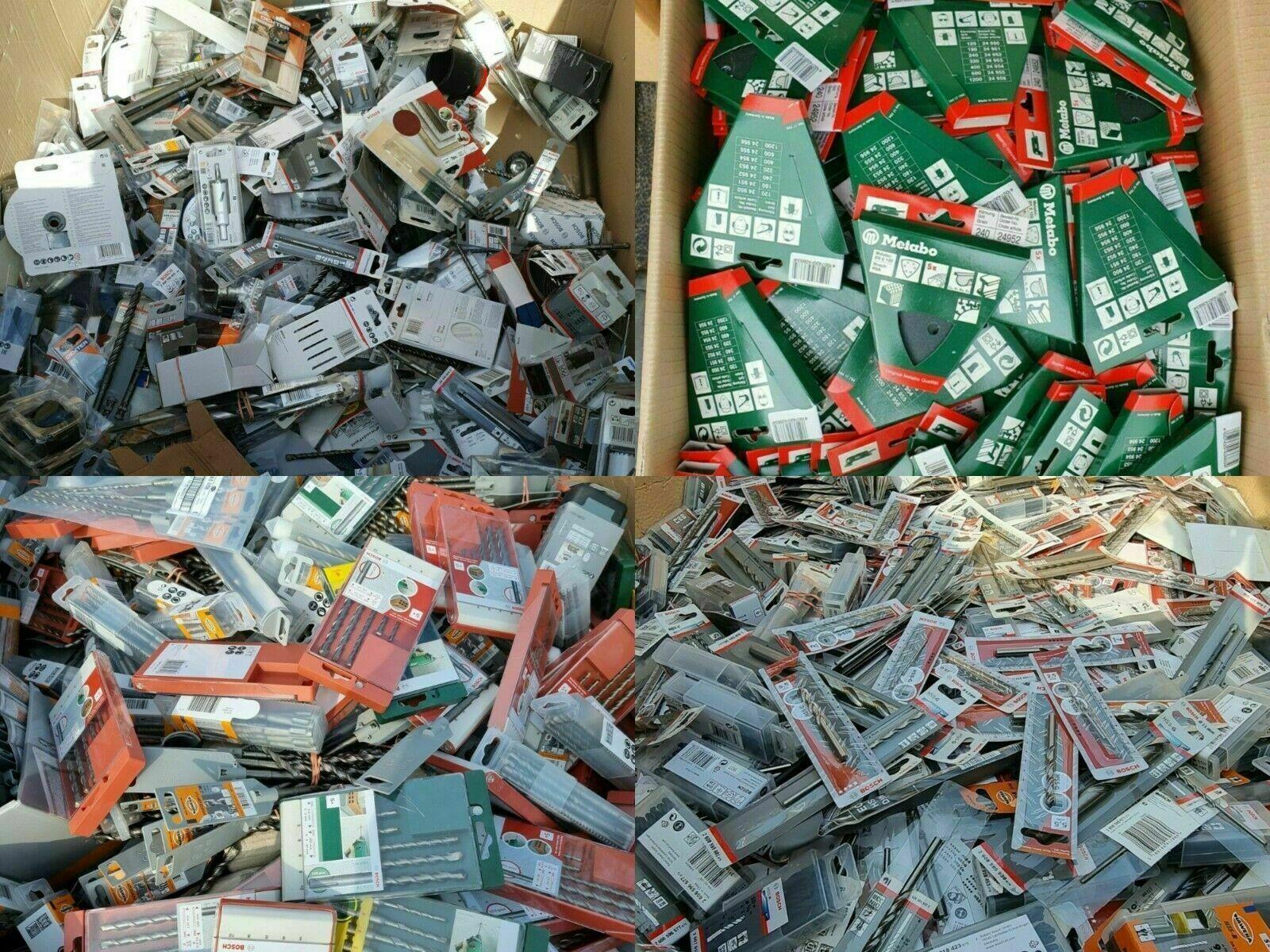 50 Teile Restposten Werkzeug Bosch Wolfcraft Metabo Sammlung Konvolut Baumarkt