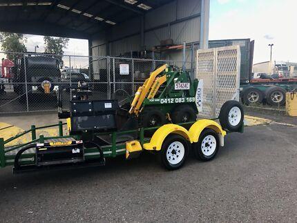 Dry Hire Kanga / Mini Excavator