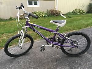 "20"" girl montain bike"