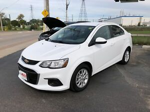 2018 Chevrolet Sonic LT- REAR VIEW CAMERA, HEATED FRONT SEATS