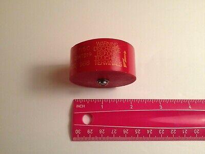 1 Pc - 1900 Pf 20 Kv Red Doorknob Capacitor Cera-mite 715-c
