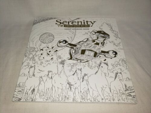 Serenity Firefly Adult Coloring Book - Dark Horse Publishing - New